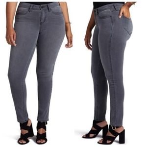 NYDJ Boost curves 360 skinny jeans in dusk gray
